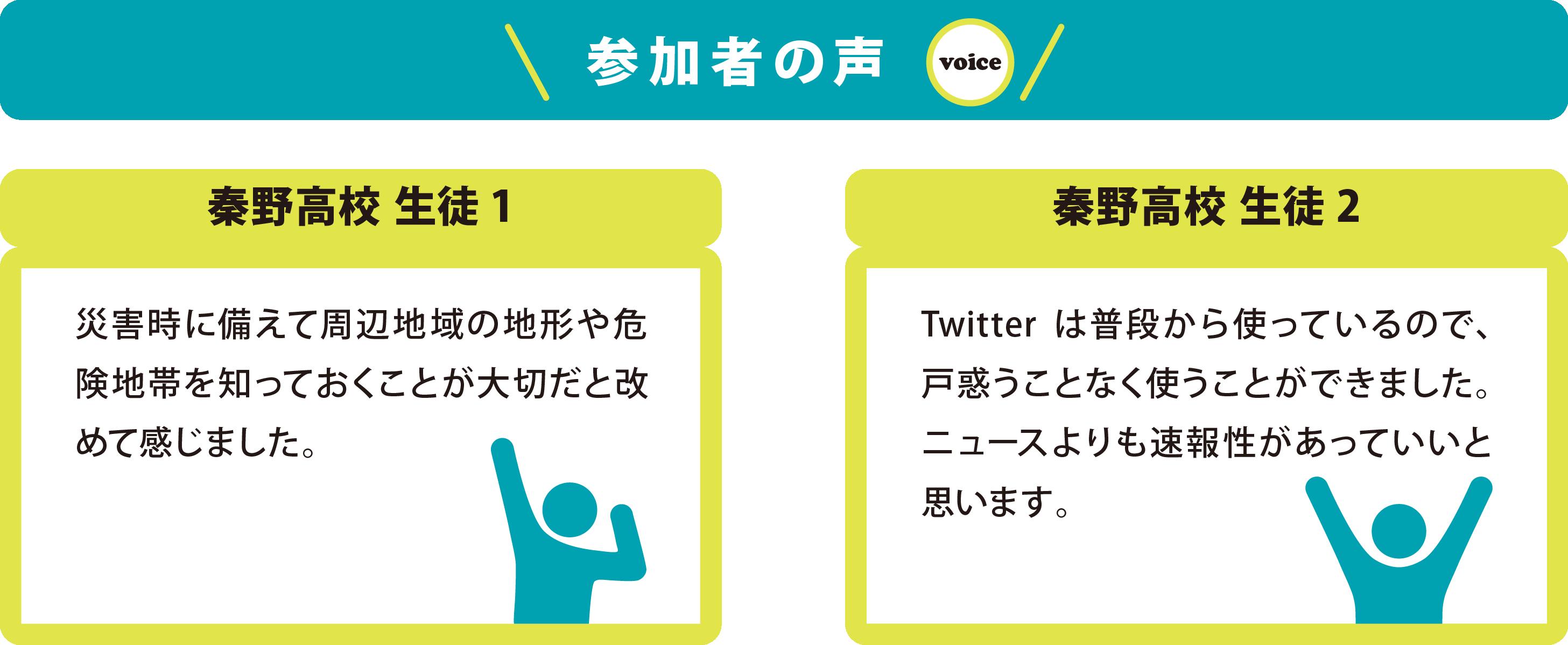 参加者の声